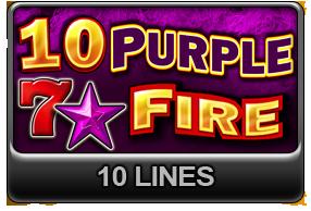 10 Purple Fire