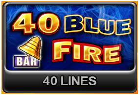 40 Blue Fire